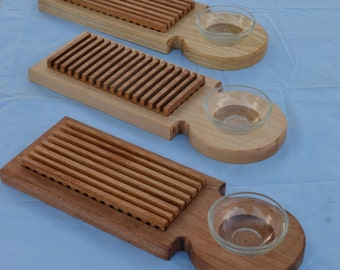 Custom Bread and Oil Trays