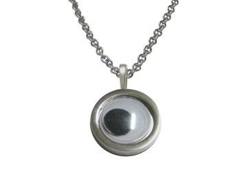 Googly Eye Pendant Necklace