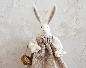 Fairytale Rabbit Art Doll - Rustles from the Meadow by Johana Molina