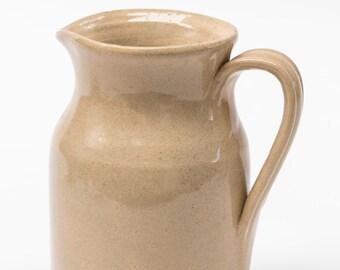 Earthenware Creamware Ewer - Jug, Moira Pottery, England