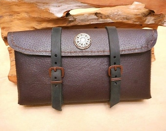 Sale-Pouch for Belt-Cell Leather-Special Pricing