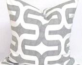 Gray Pillows, Gray Pillows, Grey Pillow Cover, Decorative Pillow, Gray Throw Pillow, Grey Ikat Pillow, All Sizes, Gray Euro, Grey Cushion