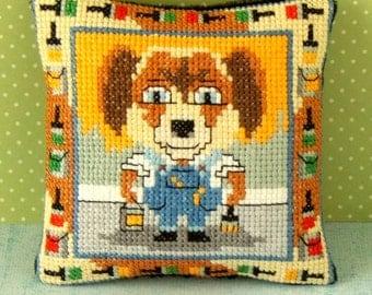 The Painter Pincushion Cross Stitch Kit