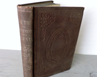Antique Biographies - Beauties And Achievements Of The Blind - Self Published - 1860 - Poetry