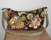 Shoulder Bag, Slouchy, Fall Print by Florence