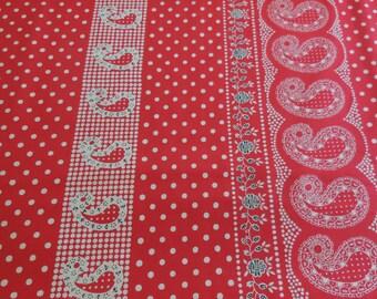 Durango Bandana / Red -  Deleon Design Group - Alexander Henry Fabric 1 Yard