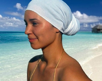 White Head Wrap