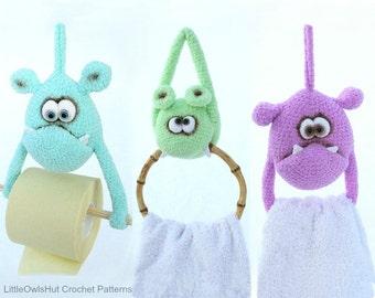 124 Crochet Pattern - Useful Monsters - Amigurumi soft toy PDF file by Borisenko Etsy