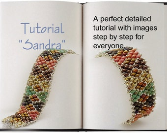 Jewelry Tutorial.... Sandra... Bracelet Tutorial