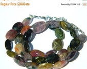 20%off. 20 Percentoff. 8 Inches Long Strand Natural Multi Tourmaline Faceted Nuggets Tumble Size 11-17mm Approx. Great Item