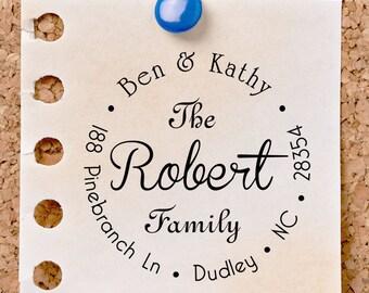 Return address stamp,SELF INKING custom address stamp,personalized family address stamp,wedding address stamp,R14