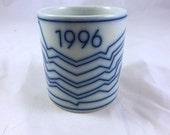 1996 Royal Copenhagen Jorn Larsen Artists Annual Mug