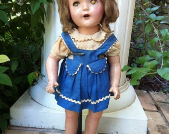 Antique Composition Nancy Doll