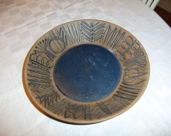 Vintage Swedish Granada bowl by Gustavsberg Lisa Larson design