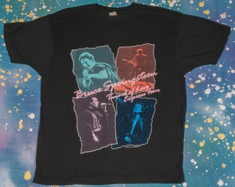 1988 BRUCE SPRINGSTEEN Tunnel Of Love Express Tour Size L