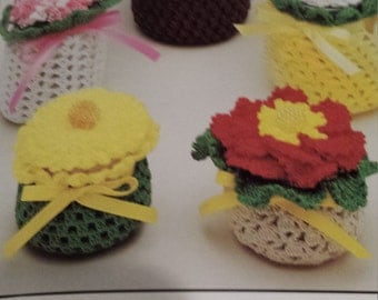 Flower Caches - Decorative Jar Covers