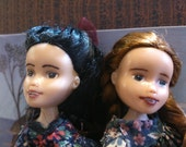 Anne of Green Gables and Diana Barry Friendship Pair, bratz rescue makeunder+ repaint