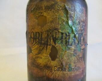 Halloween Potion Bottle/Jar Goblin Blood