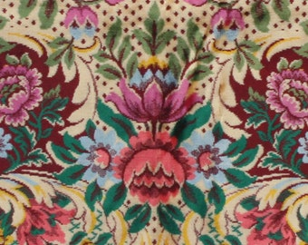 Vintage Italian Velvet Bedspread Vintage Velvet Bedspread