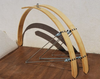 Bicycle, bamboo fenders