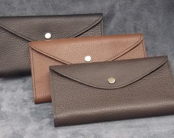 Hand Crafter Leather Clutch Wallet