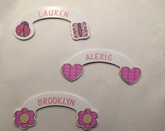 Personalized Wooden Door Hangers
