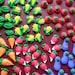 Mini royal icing garden veggies -- Edible cake decorations cupcake toppers (28 pieces)