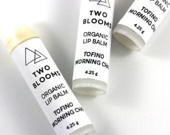 Organic Lip Balm, Natural Vegan Lip Balm, Mint Lip Balm, Chai Lip Balm, Lip Tube, Victoria BC, Vancouver Island Canada