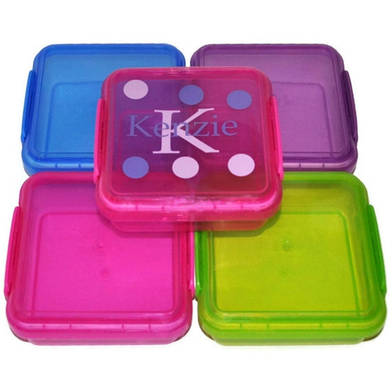 Lime Green Personalized Sandwich Container This order is for 1 LIME
