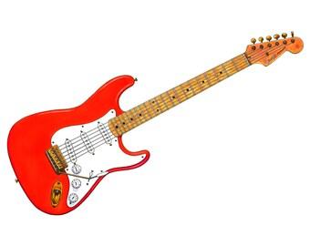 Hank Marvin's Fender Stratocaster CANVAS PRINT