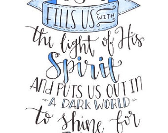 Fill Us With the Light of the Spirit