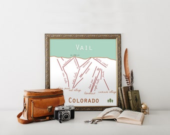 Vail, Colorado Ski Trail
