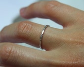 Sterling silver 925 Stackable Ring ''Juliet'' - Hippie - Tribe jewelry Hand made