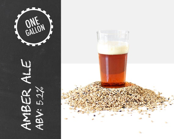 Amber Ale 1 Gallon Beer Recipe Kit