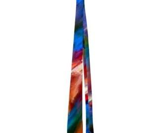 Beautiful Abstract Art Men's Neck Tie