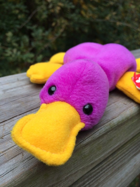 Ty Beanie Babies Collection Patti The Platypus