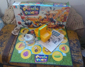 Picnic Panic Ant Game with Instructions, Children' Board Game, Vint Children's Board Game, Preschool game, Vint Board Games, Board Game  :)