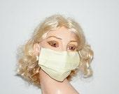 Hospital Mask, light yellow face mask, Surgical mask, medical mask