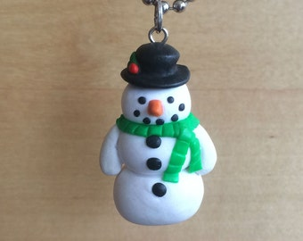 Frosty The Snowman Necklace