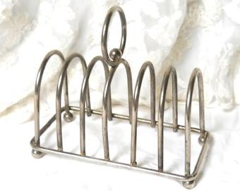 vintage toast rack silver plated toast rack silver toast rack continental breakfast serving rack toast holder