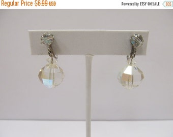 ON SALE Aurora Borealis Dangle Earrings Item K # 721
