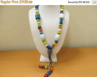 "On Sale Vintage Glass ""Hippie"" Beads Item K # 1718"