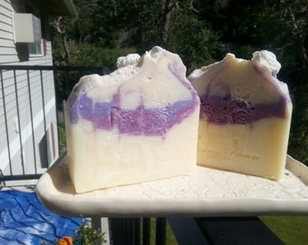 Lilac scented soap, bar soap,  shower soap, hand soap,  body soap