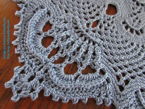 ROYAL CROWN; Crochet Doily Pattern; PDF; Kristoffersen ...