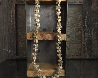 Vintage Cluster Shell Necklace