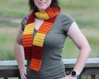 Crochet scarf, Inspired By Jayne