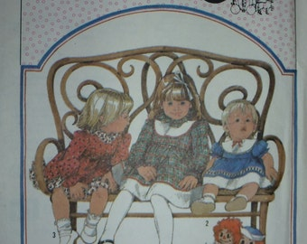 VINTAGE Simplicity Cinderella Pattern 8202 for Toddler's Dress  Size  2