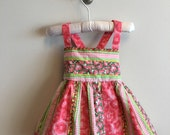 Vintage baby girl sundress (9-12 Months)