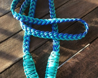Handmade Rope Neck ropes- Blue Combination.