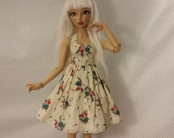 Vintage Poppy Minifee Dress
